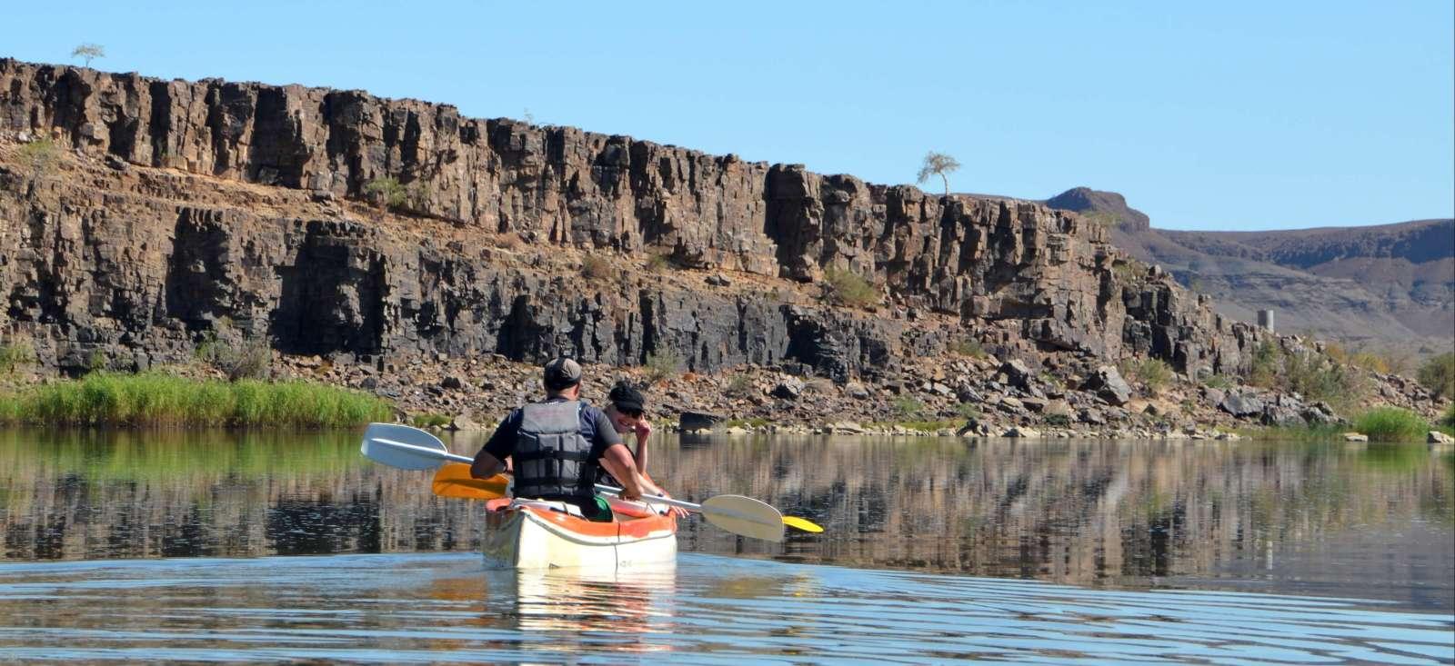 Voyage à pied : Sud Namibie, un parc, un d\'sert et un canyon