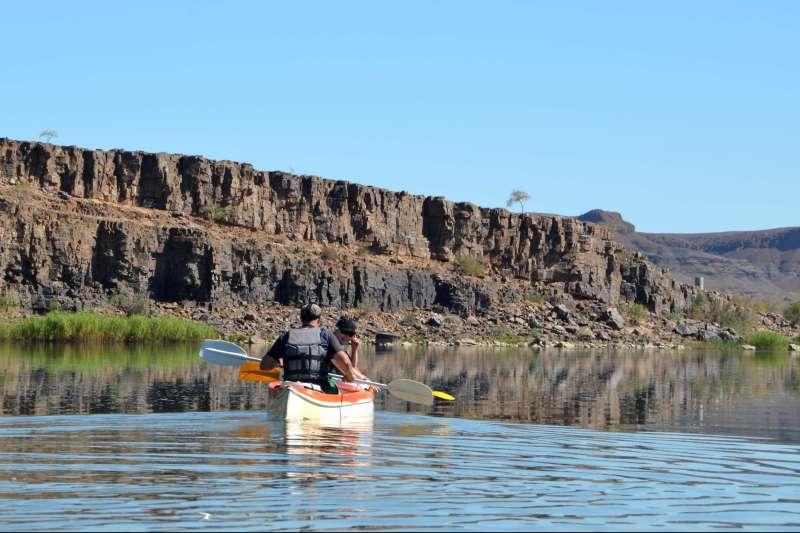 Voyage en véhicule : Sud Namibie, un 4x4, une tente et un canoë