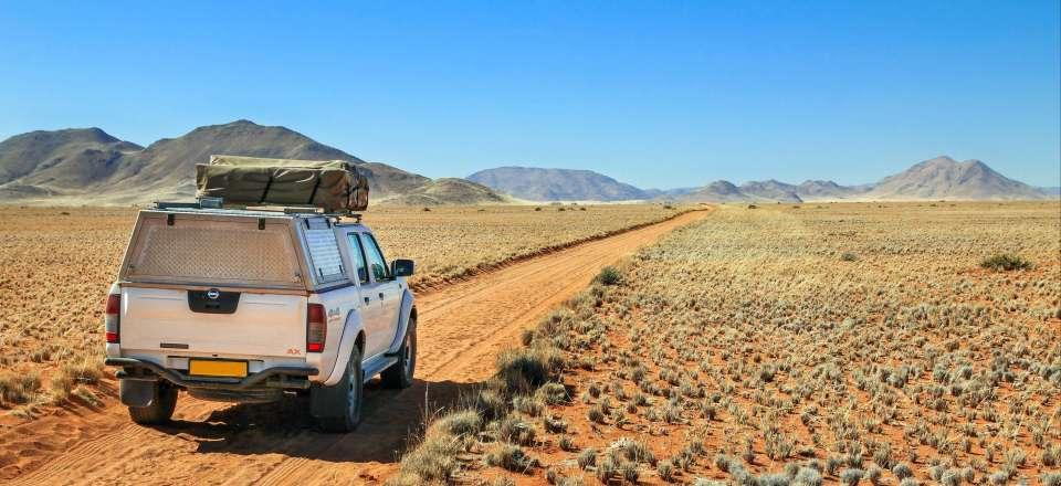 Autotour En 4x4 Avec Tente Sur Le Toit La Namibie Sous Les Etoiles Nomade Aventure