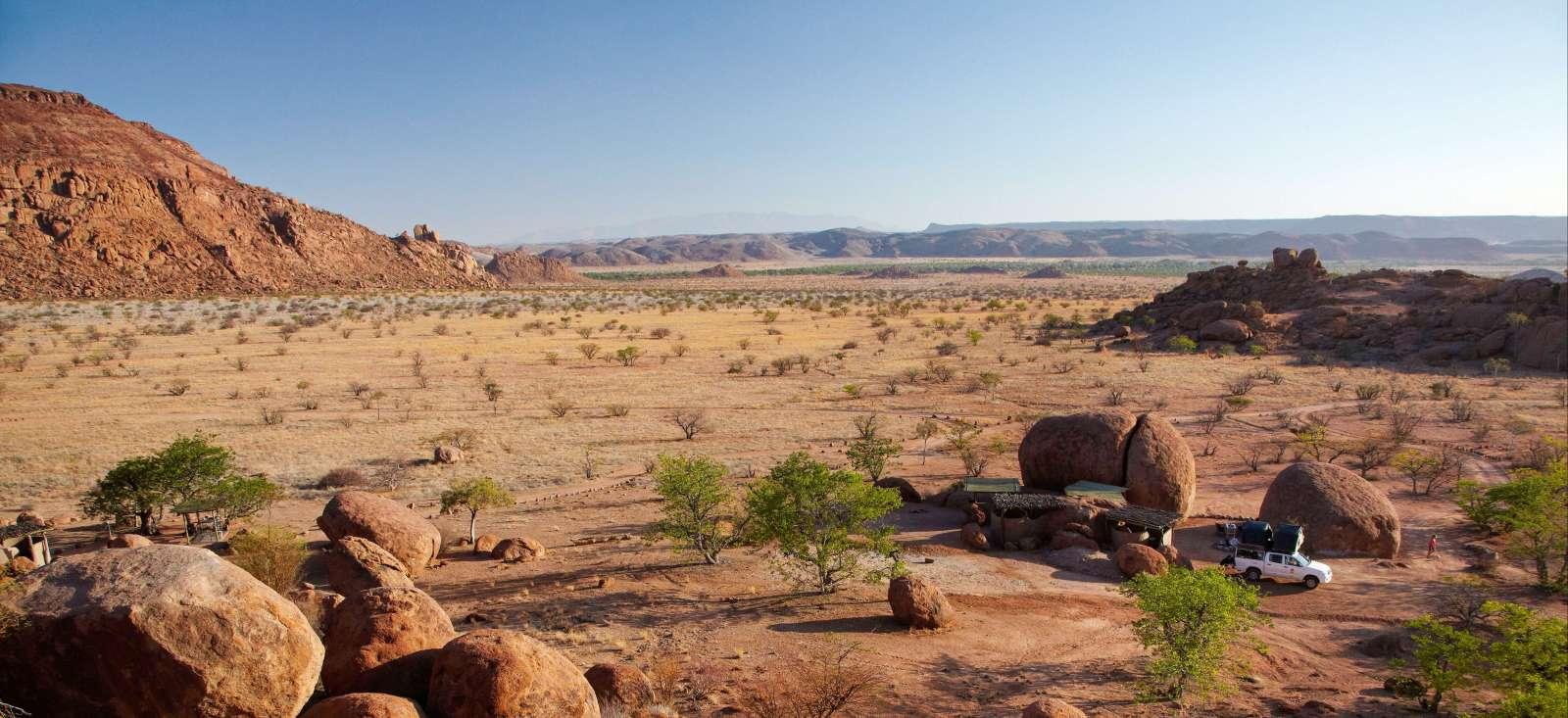 Voyage à pied : Roadtrip namibien, l\'aventure en famille