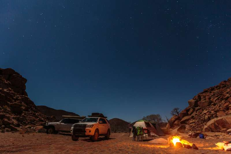 Camping Party en Namibie !