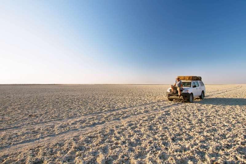 Voyage à pied : Aventure du Namib au Delta de l\'Okavango