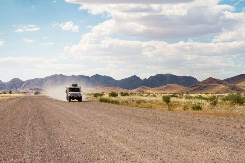 Voyage à pied : Roadtrip en camping car, la family en Namibie