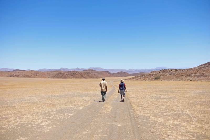 Grand trek : Namib, Damaraland, Kaokoland !