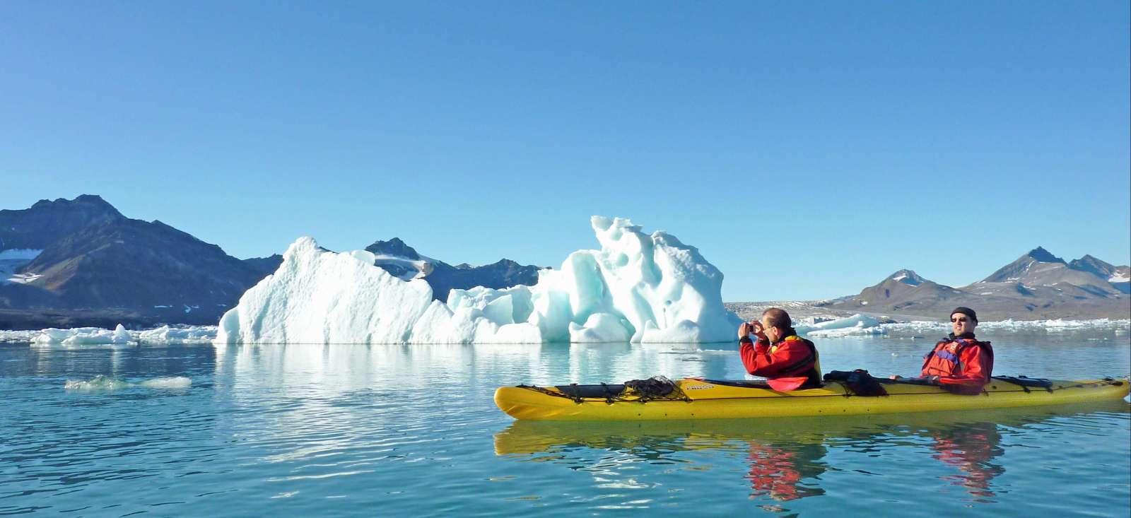 Voyage sur l'eau Norvège : Fjords, glaciers, phoques...et kayak !