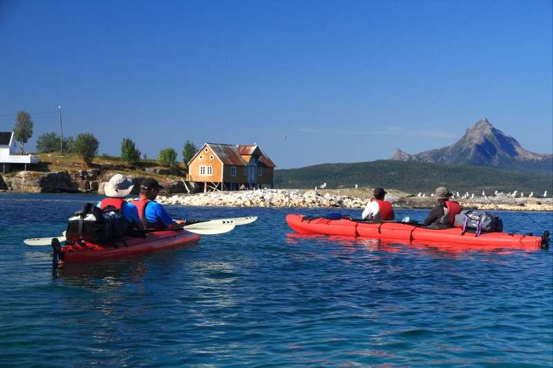 Voyage à la neige : Norvège : Rando kayak dans la baie d\'Efjord