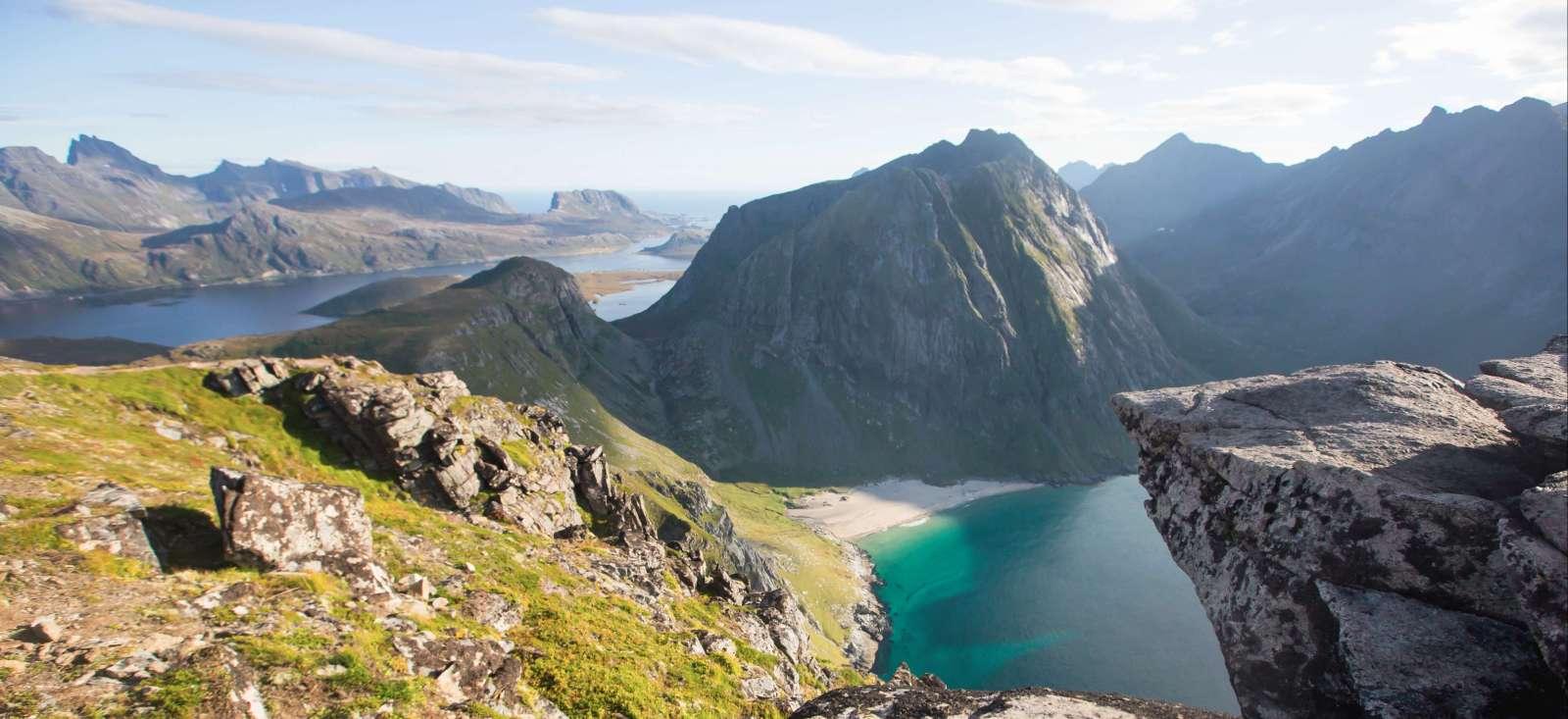 Voyage à pied Norvège : Les Lofoten version roots