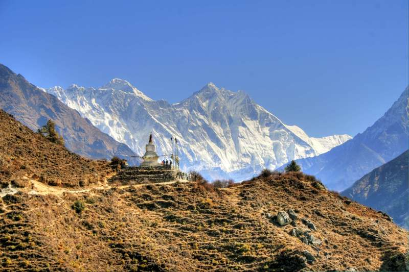 Voyage à pied : Grand tour de l\'Everest via Gokyo