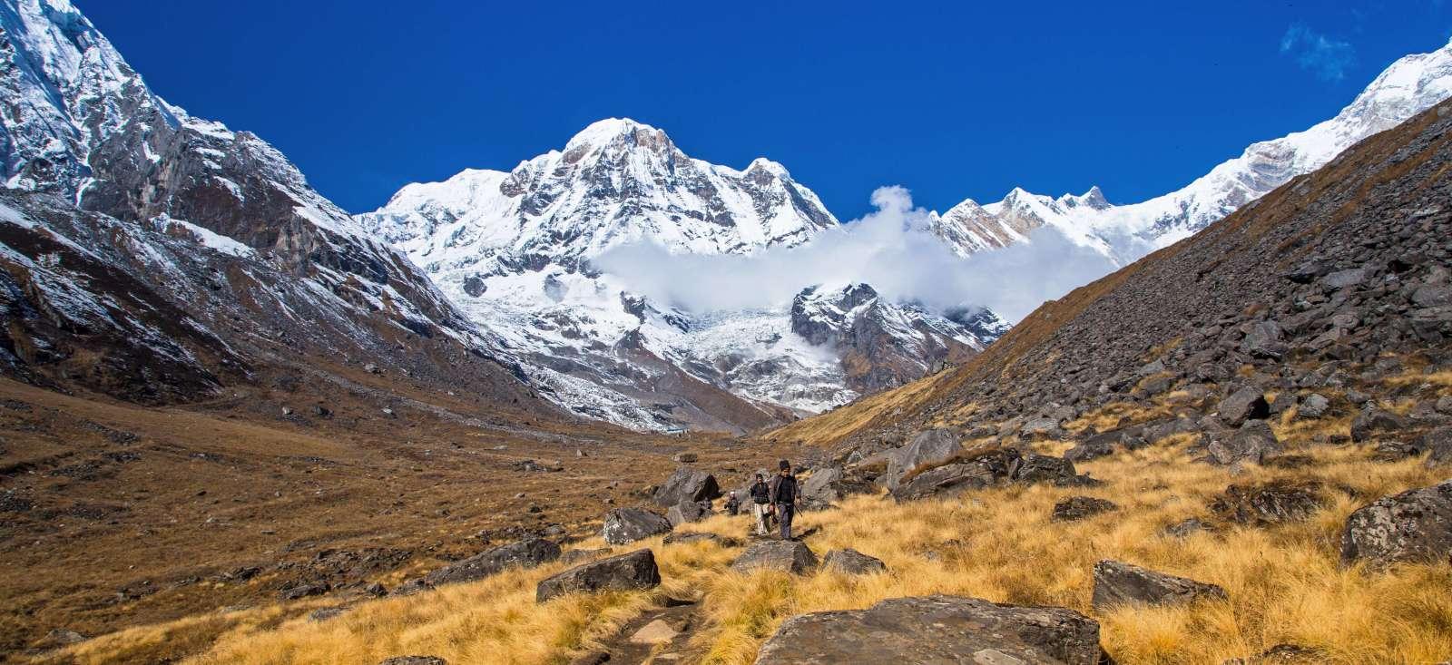 Voyage à pied : Sanctuaire des Annapurnas