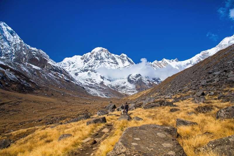 Voyage à pied : Le sanctuaire des Annapurnas