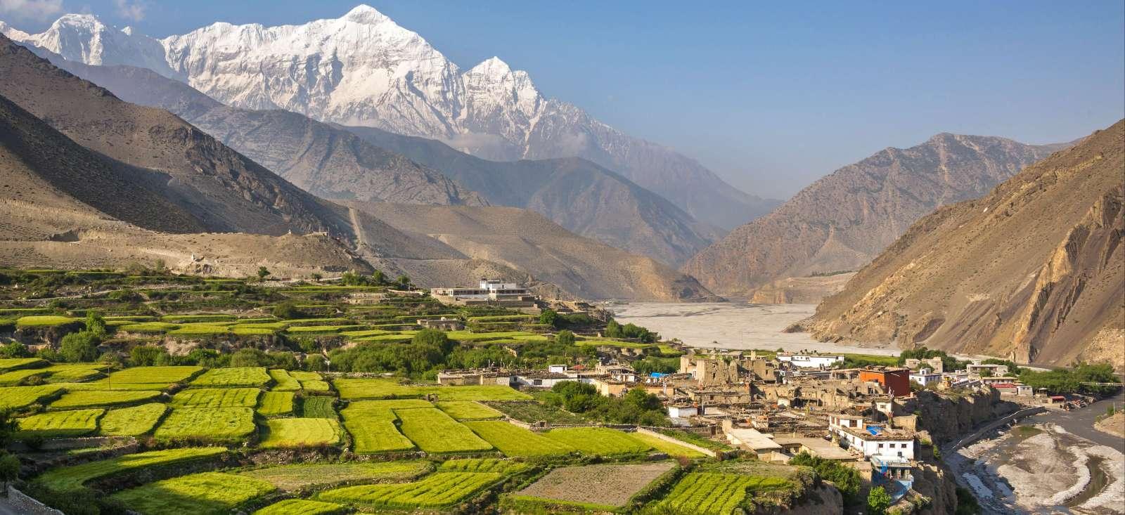 Voyage à pied : Nepal : Le Mustang, royaume interdit