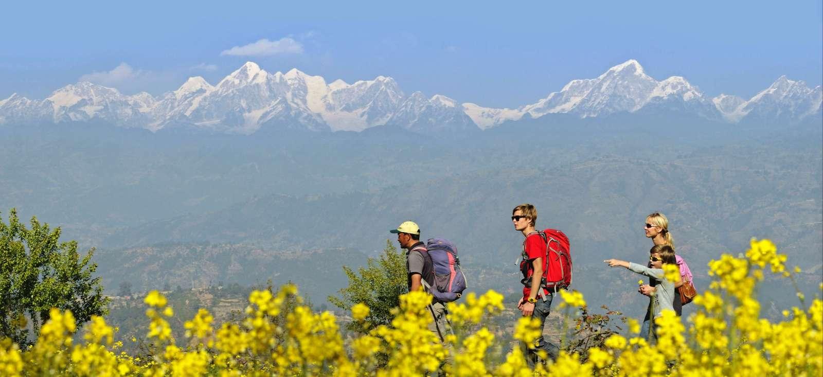 Voyage à pied : Népal Bouddha qui veut !