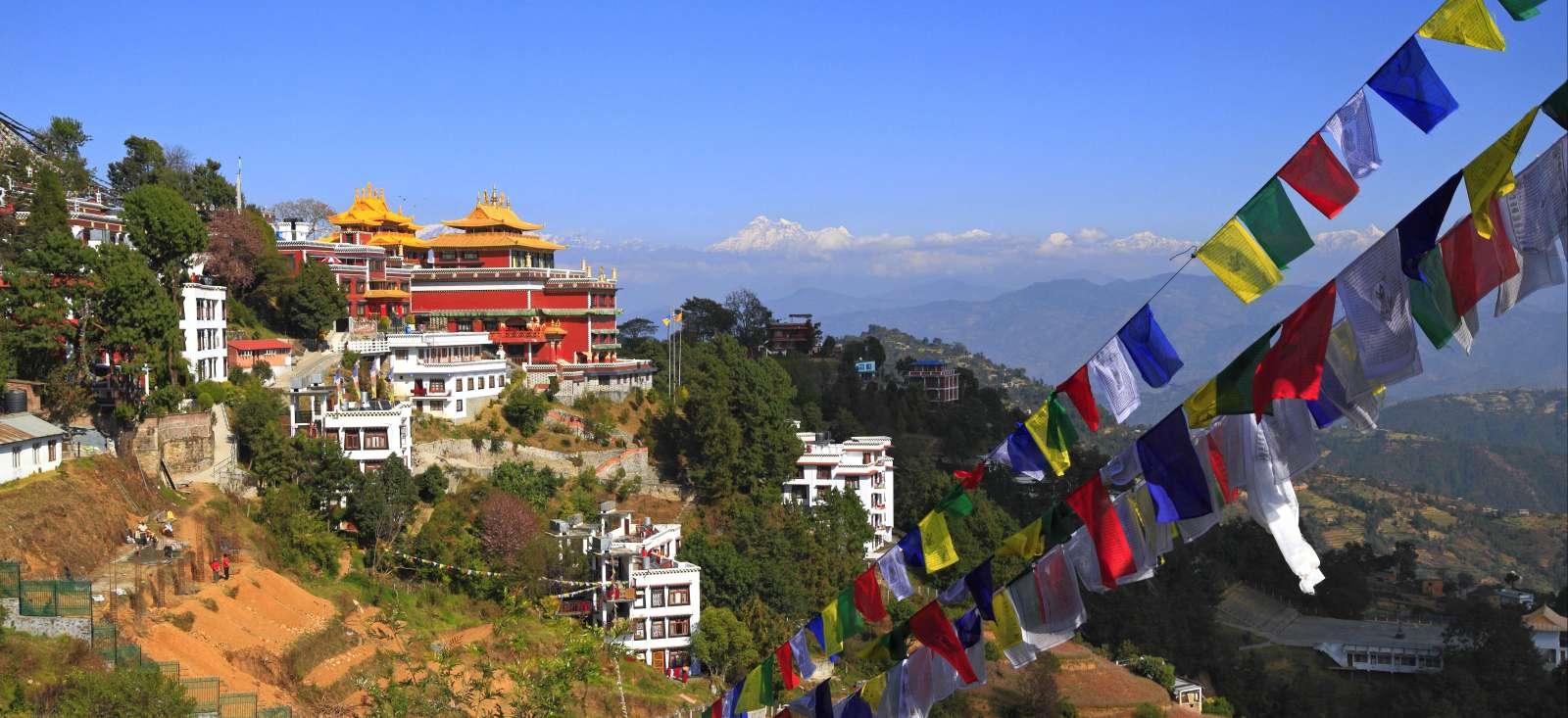 Voyage à pied : Katmandou, vallée des temples et monastères