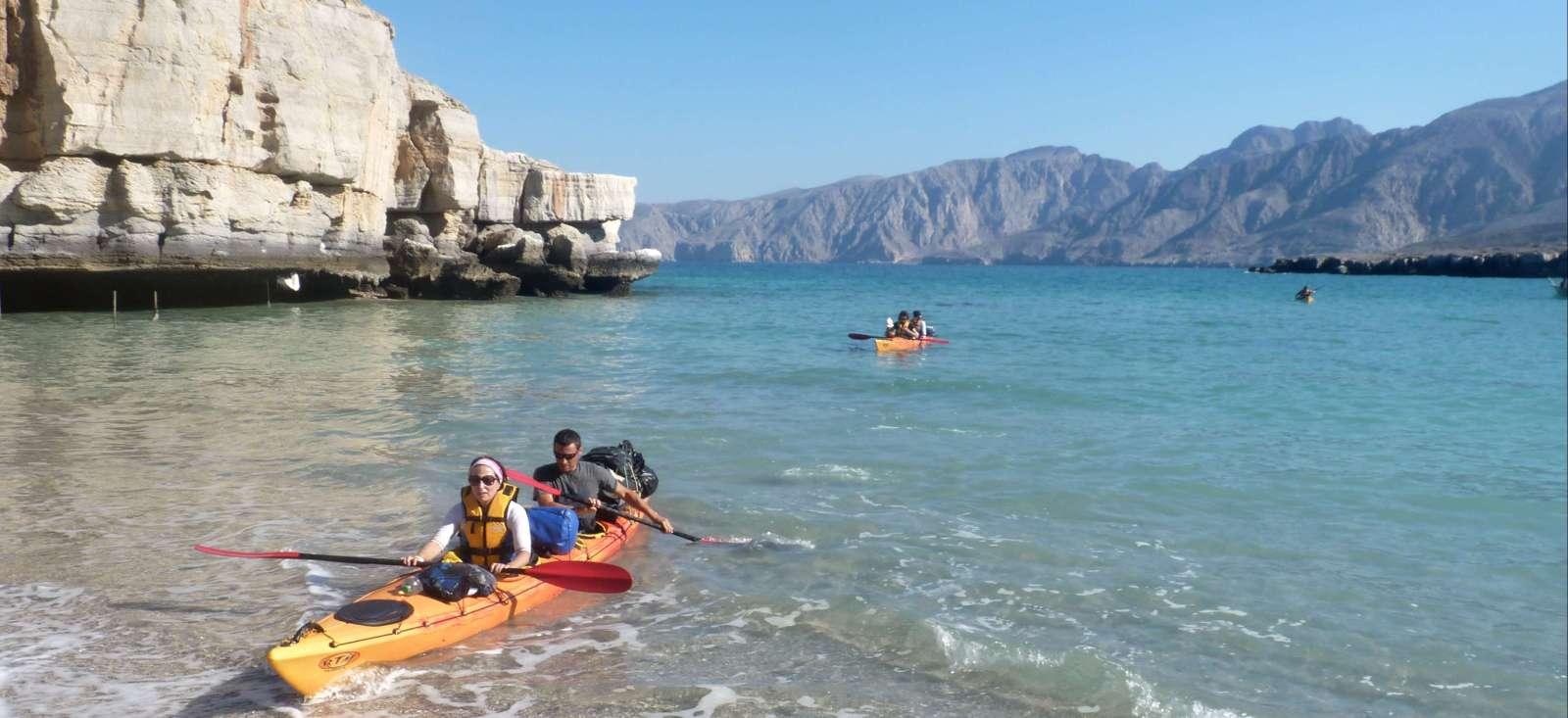 Voyage en kayak : Kayak au Musandam, Merveille d\'Ormuz
