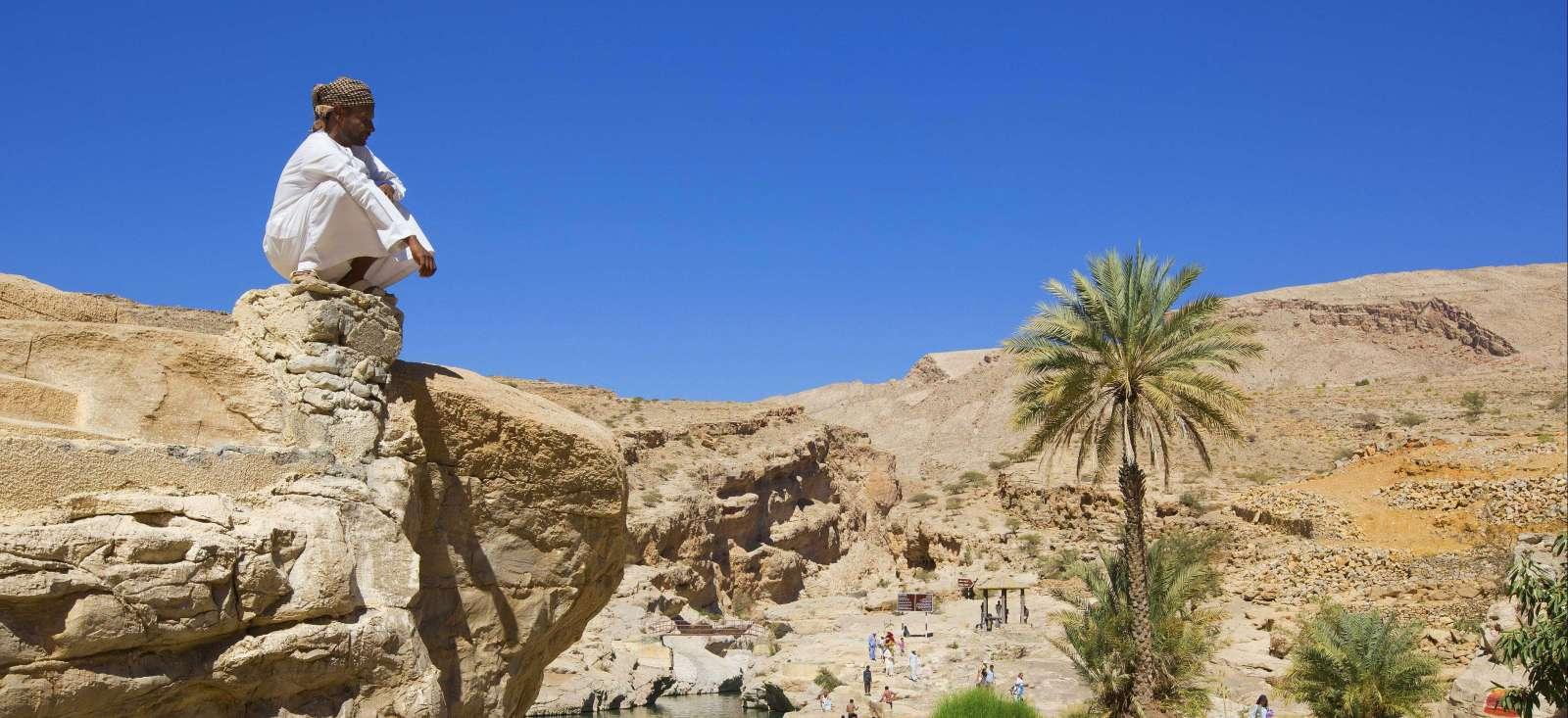 Voyage à pied : Petit paradis des wadis