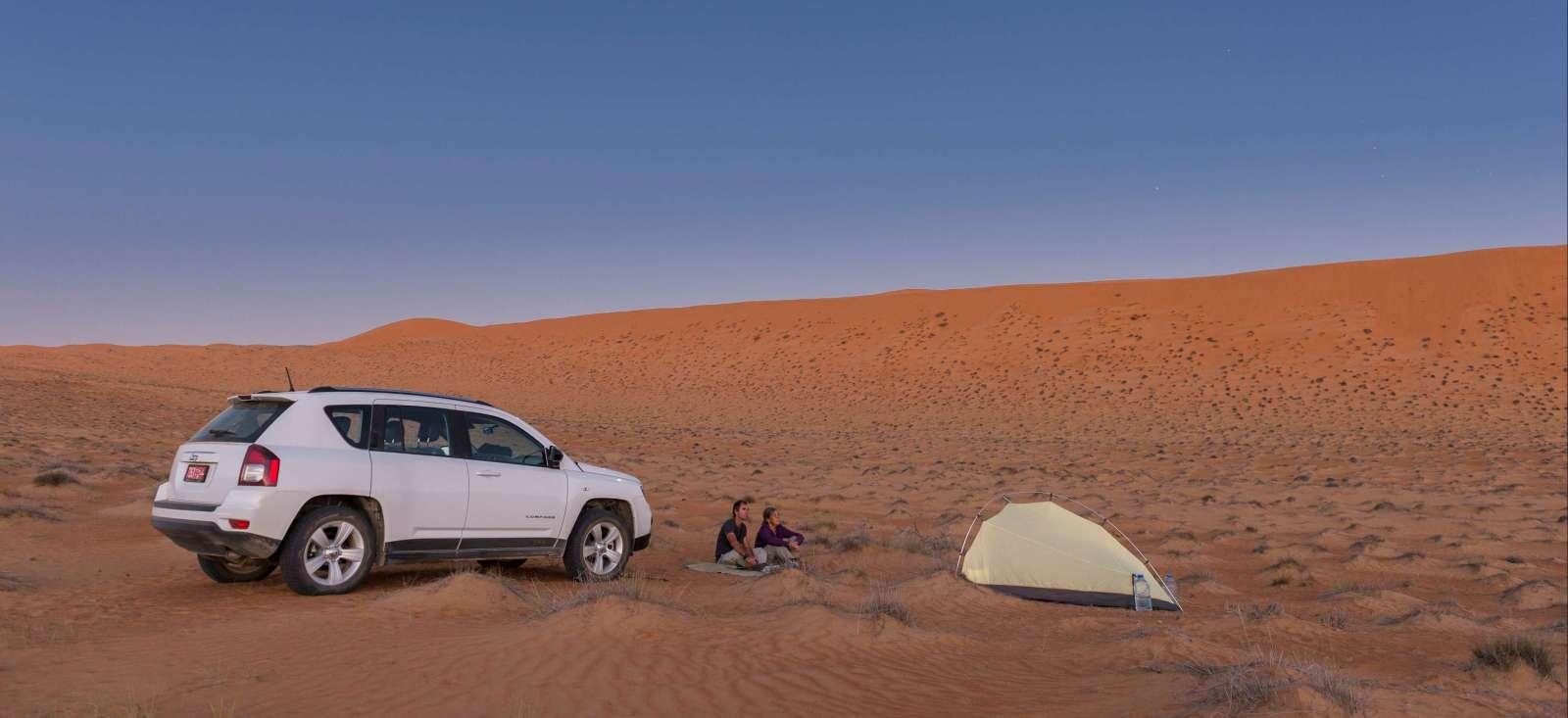 Voyage à pied : Oman sous les étoiles