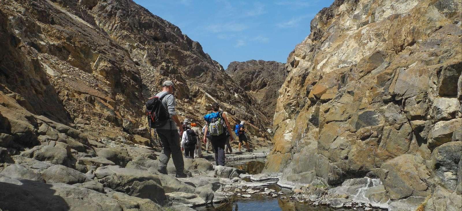Voyage à pied : Akhdar & Shams, le trek des djebels