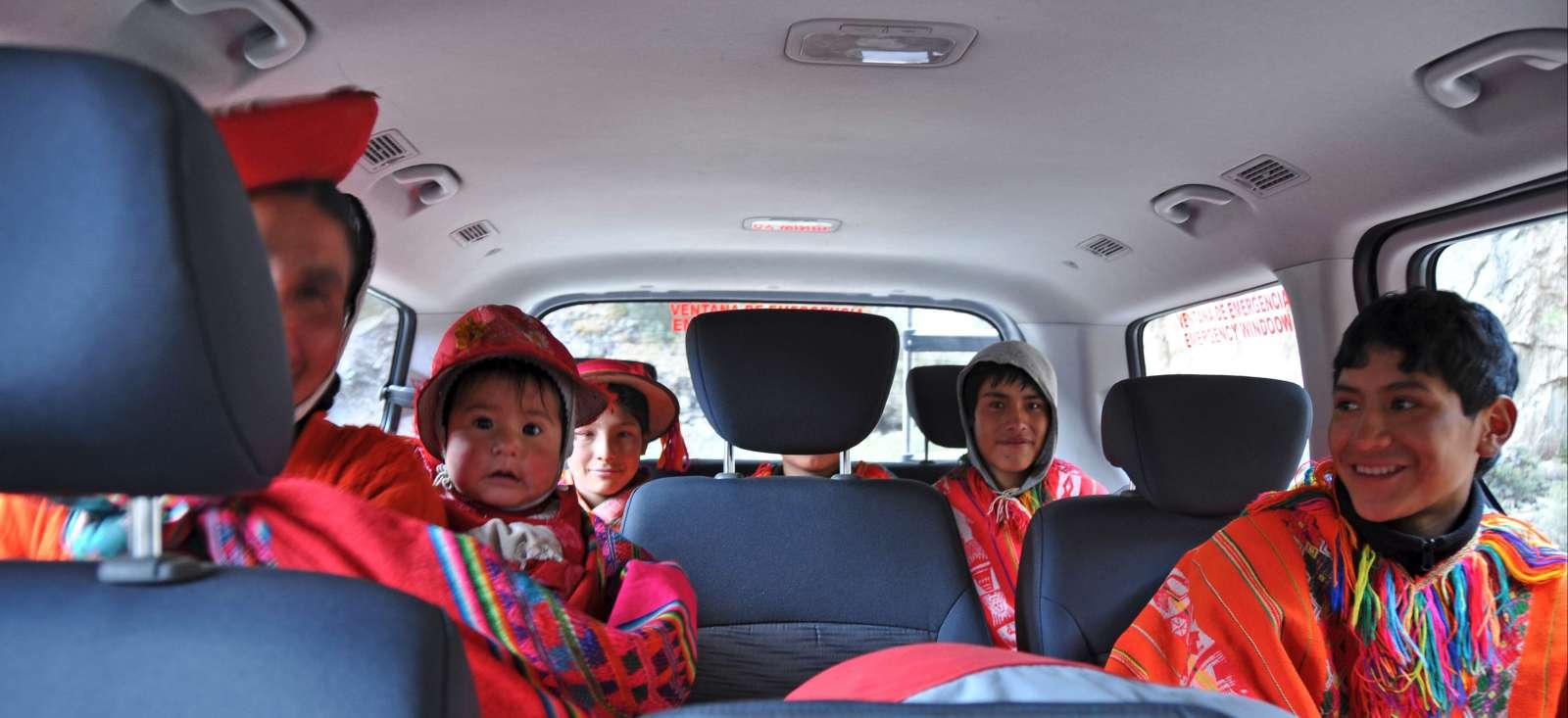 Voyage à pied : Autotour au Pérou