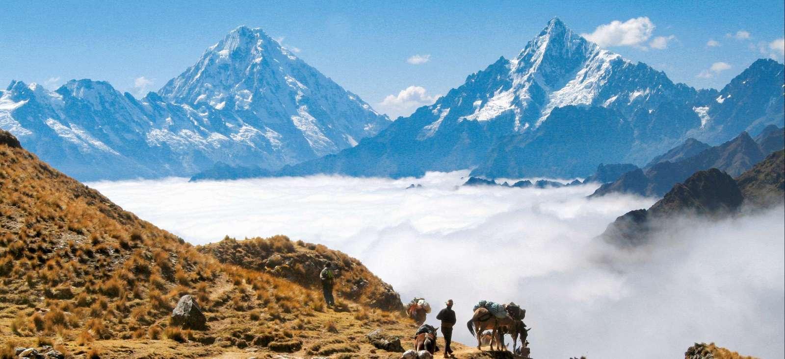 Voyage à pied : A la conquête des mystérieuses cités d\'Or !