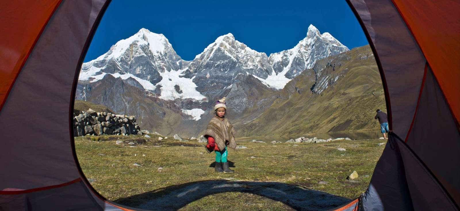 Voyage à pied : Pérou : Duo de Cordillères