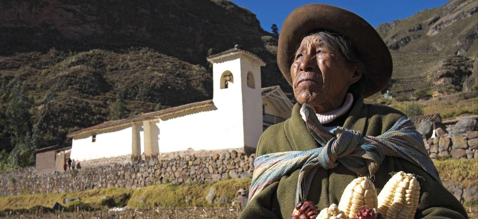 Voyage à pied : El condor pasa !
