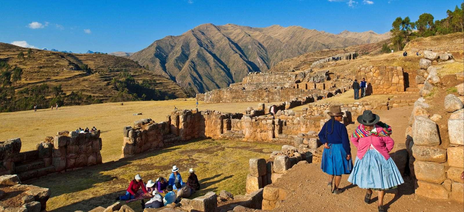 Voyage à pied : Au pays des Incas !