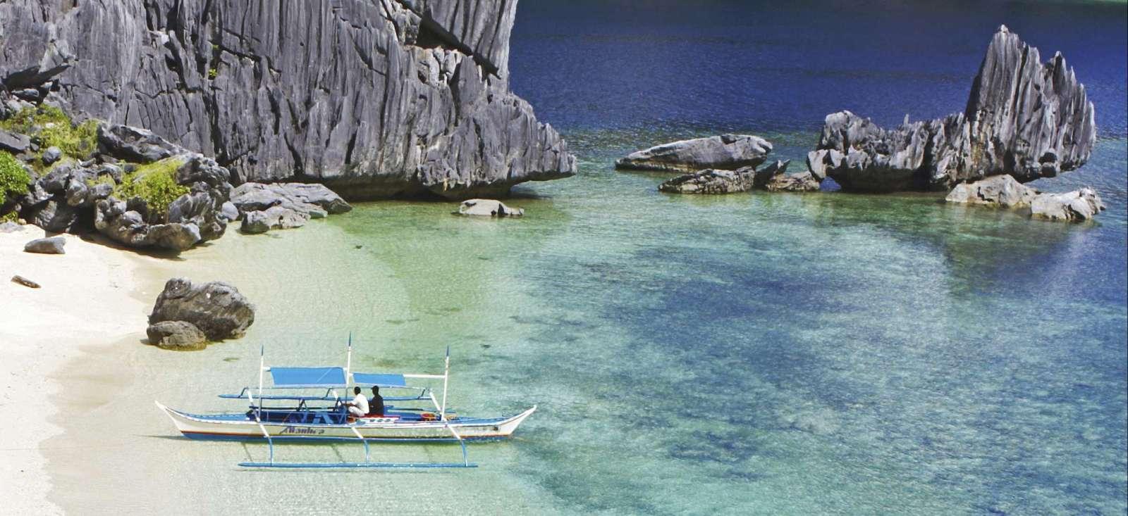 Voyage à pied : Robinsonnade sur l\'île de Palawan !