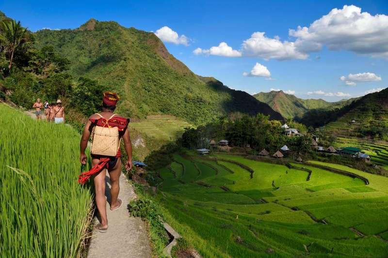 Voyage à pied : Philippines : Tribus Ifugao et île de Mindoro