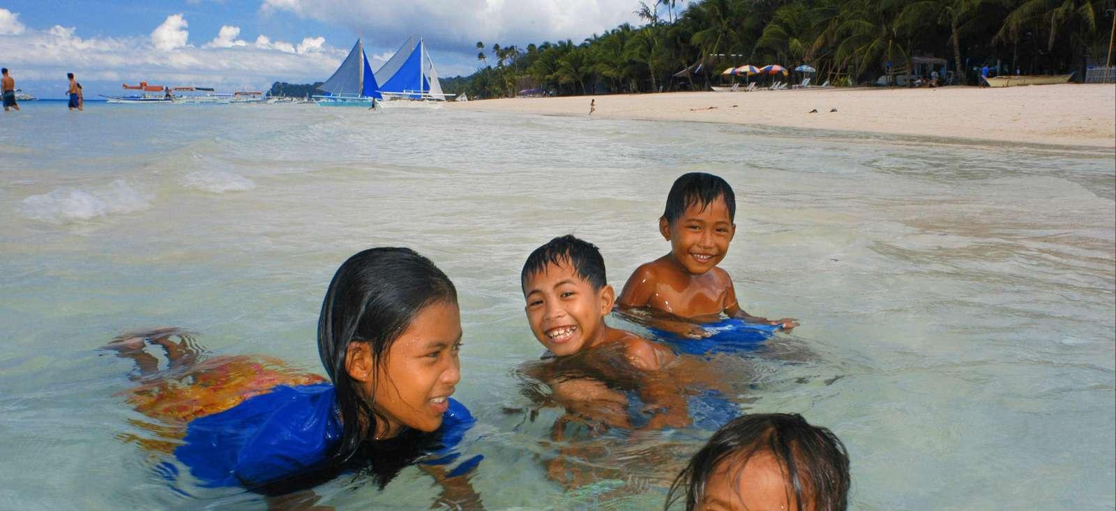 Voyage à pied : Les Visayas en famille !