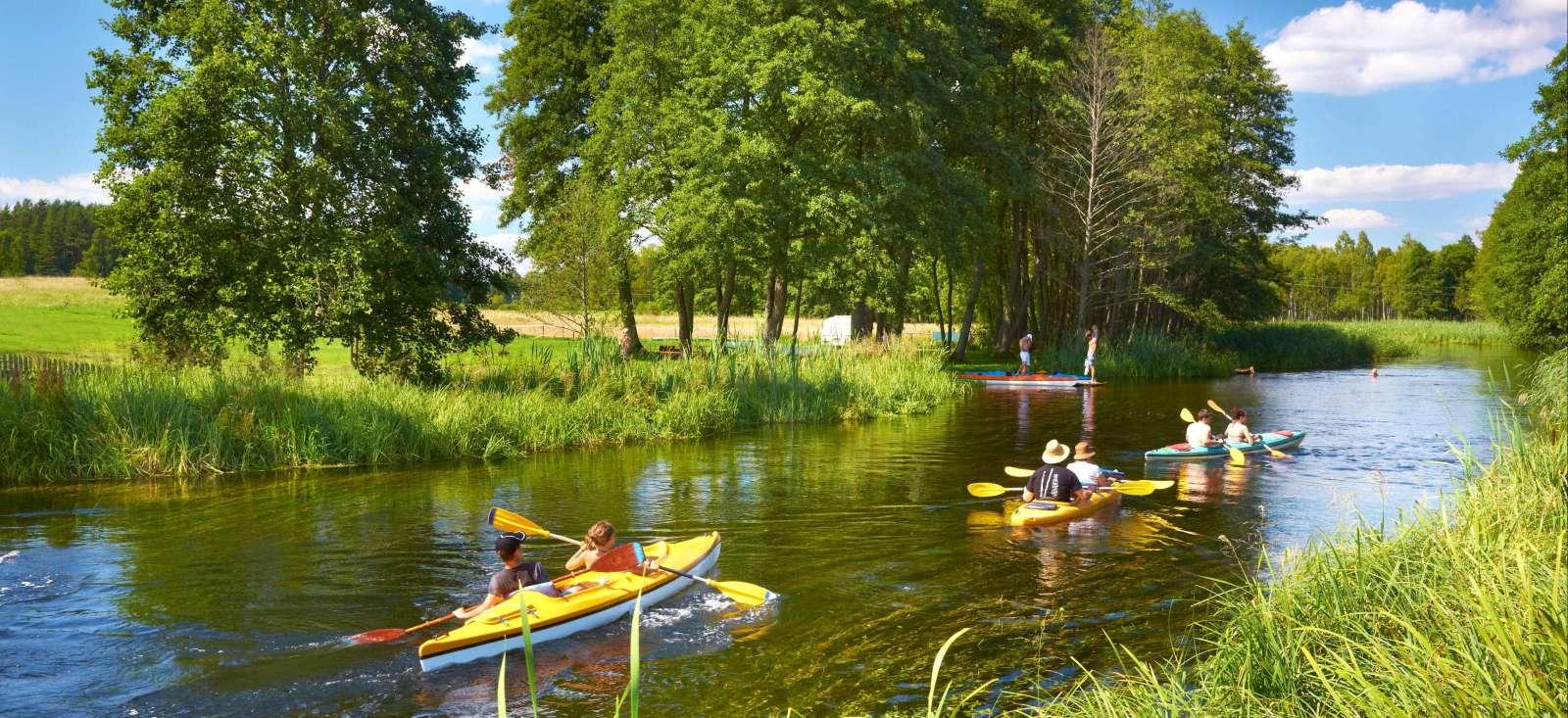 Voyage à pied : La Mazurie aux 4000 lacs...
