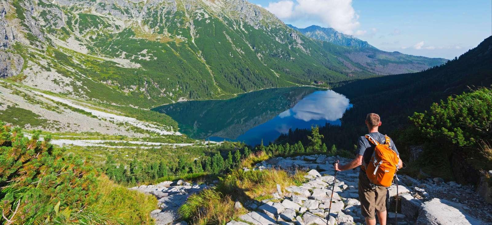 Voyage à pied : Cracovie et le massif des Carpates