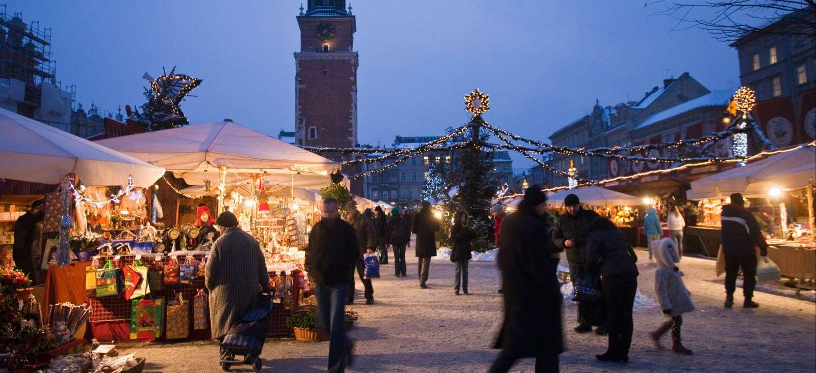 Voyage à pied : Flashez sur Cracovie en hiver !