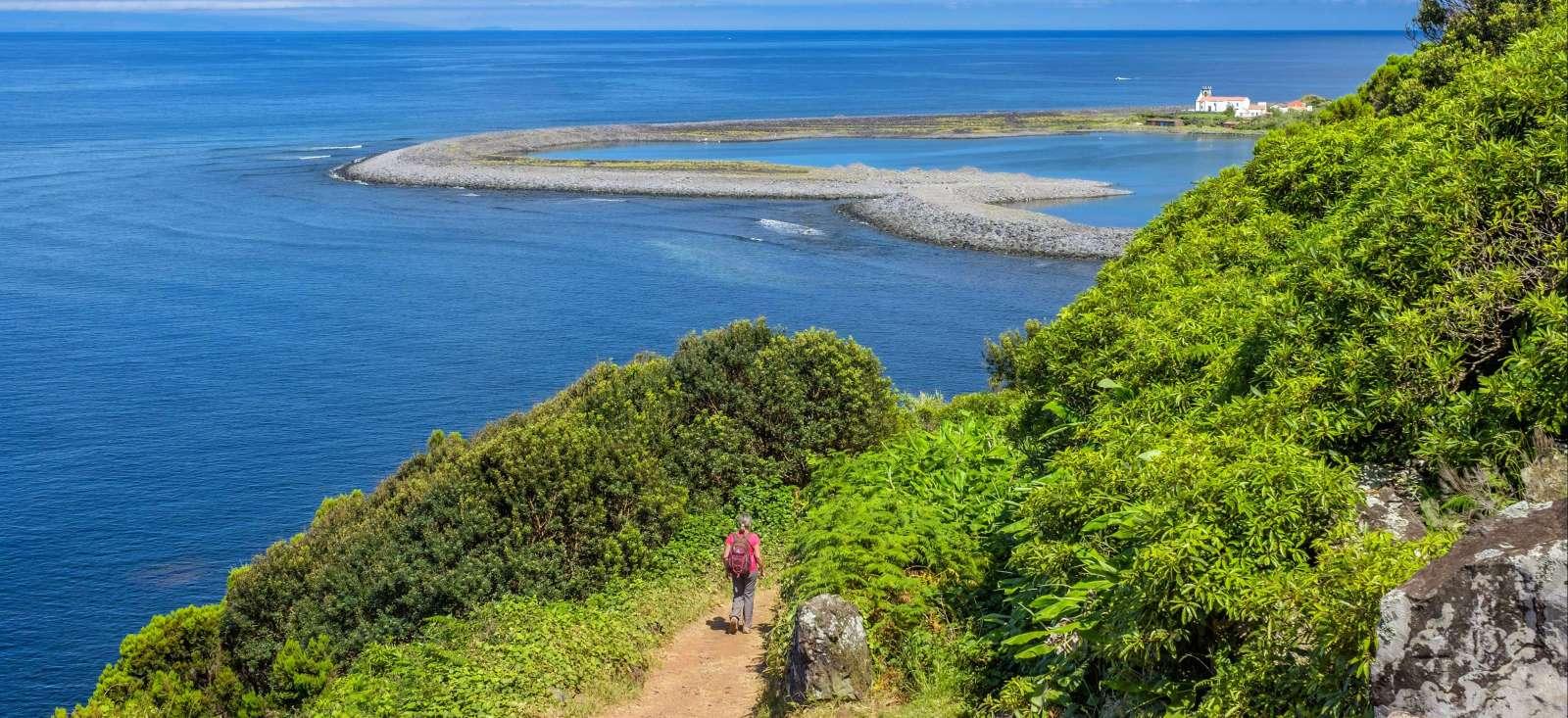 Voyage à pied : Les Açores version camping