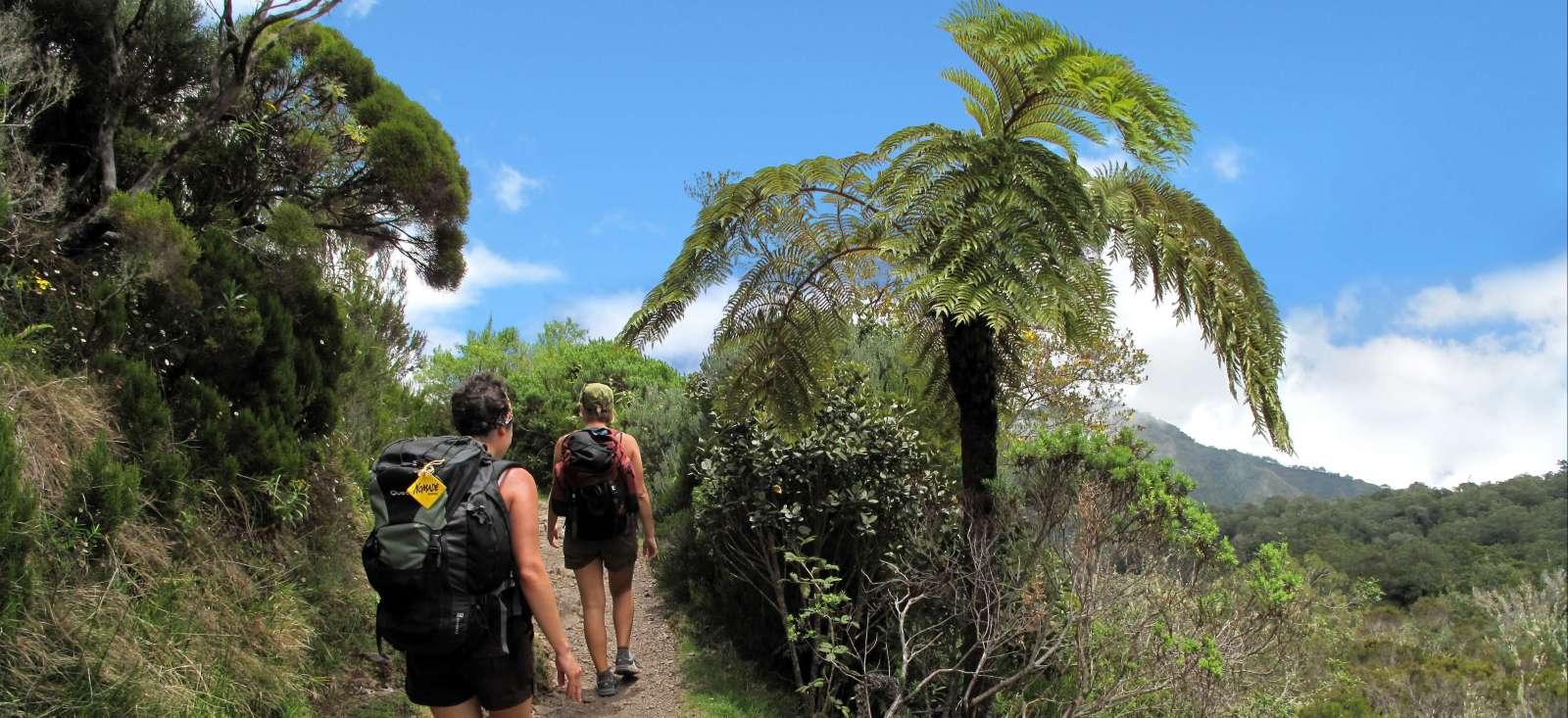 Voyage à pied : En Réunion avec Maurice...
