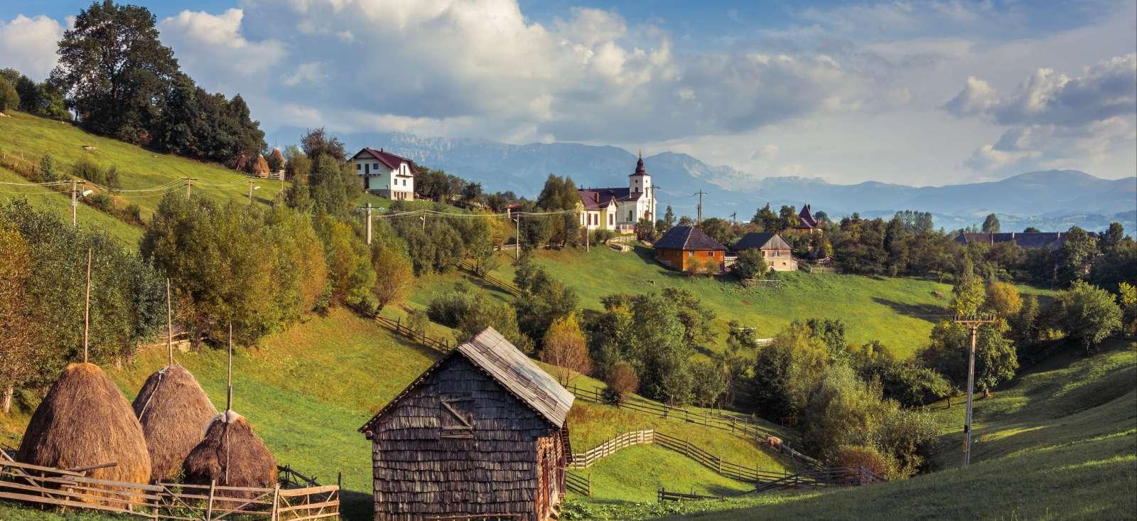 Voyage à pied : Villages et parcs naturels des Carpates