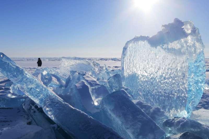 Voyage à pied : Traversée à pied du lac Baïkal gelé