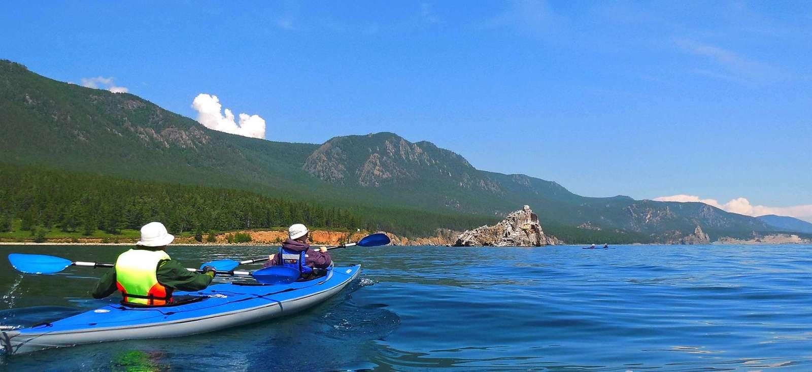 Voyage sur l'eau : Un kayak pour le Baïkal...
