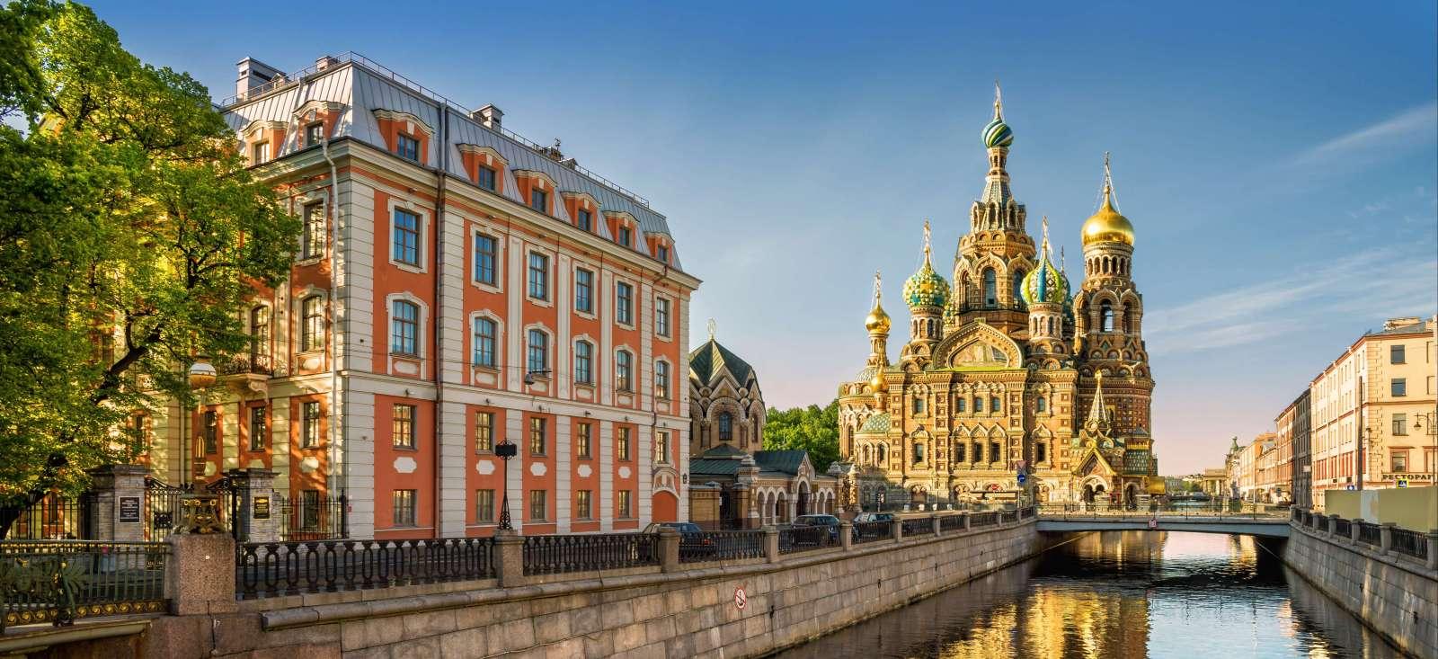 Voyage à pied : Moscou, l\'Anneau d\'Or, et St-Pétersbourg