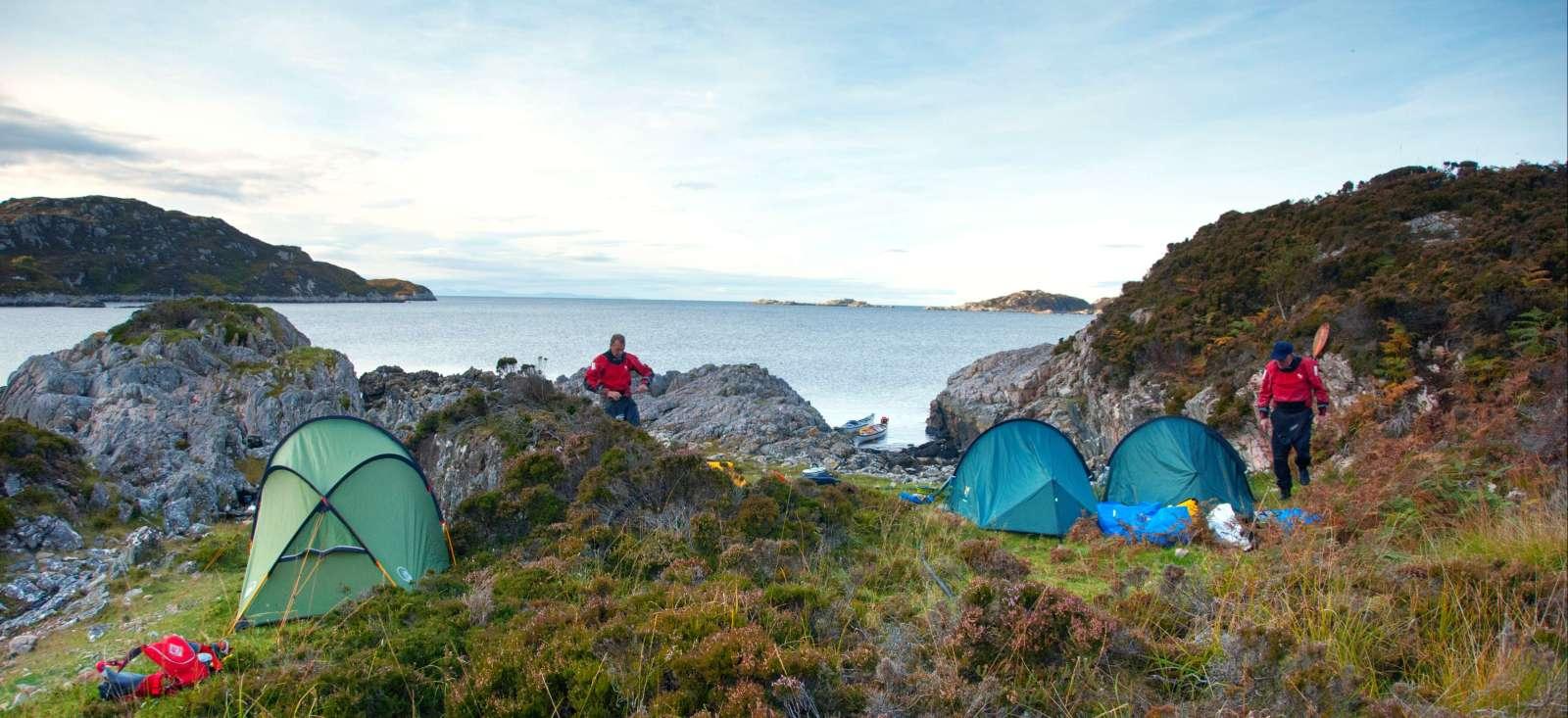 Voyage en kayak : Kayak et rando des Summer Isles au Ben Nevis.