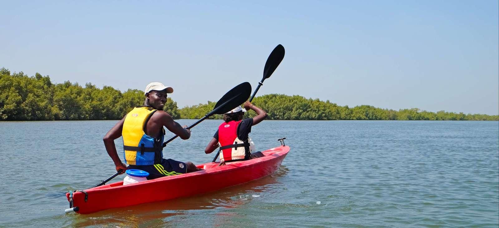 Voyage sur l'eau : Rando et kayak en Casamance