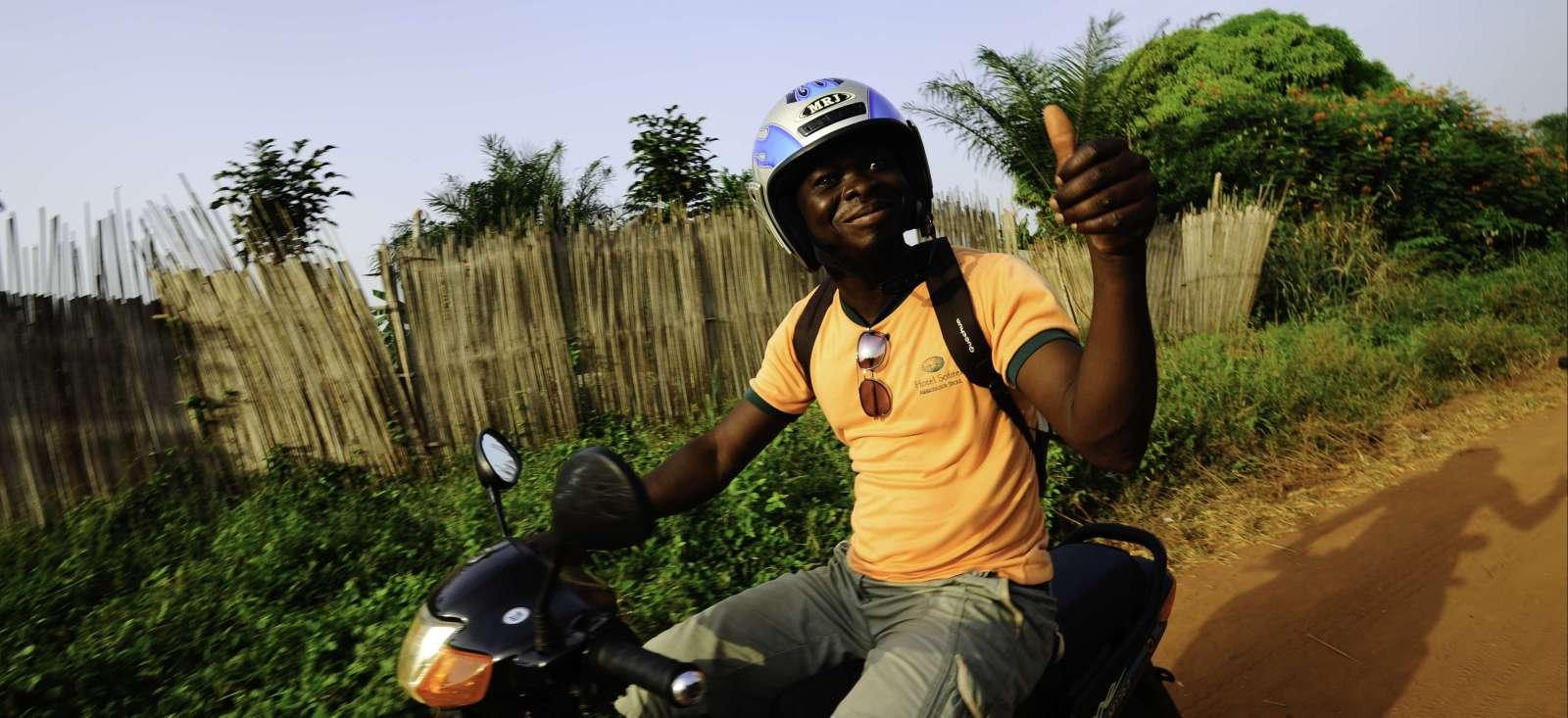 Voyage à moto : Panorama \