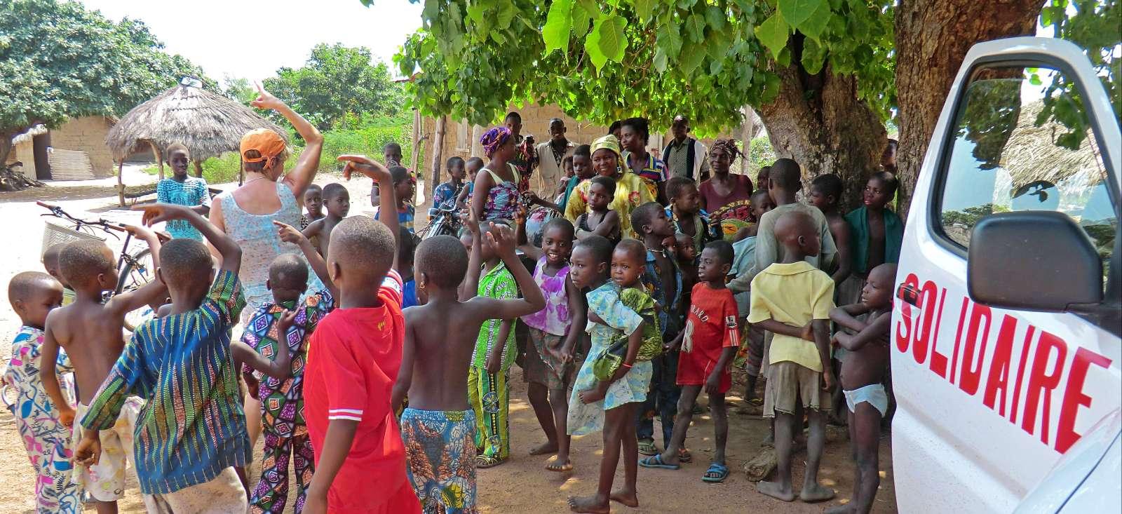 Voyage à pied : Togo Solidaire