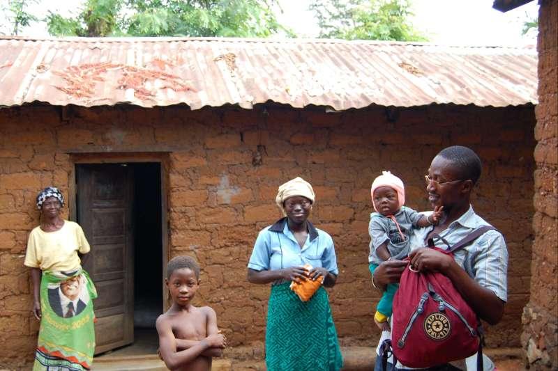 Voyage à pied : Afrique de l\'Ouest mais pas à l\'ouest
