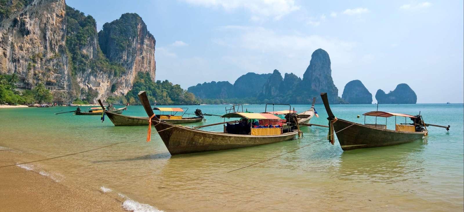 Voyage à pied : Thailande : La Magie des îles du sud