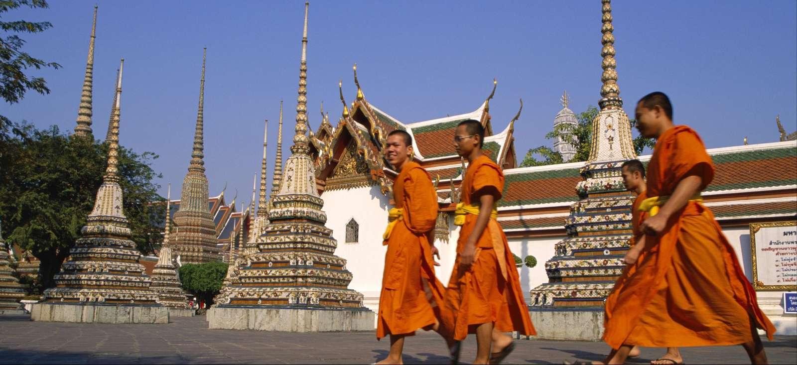 Voyage à pied Thailande : Sabaïdee Mai de Bangkok à Chiang Mai