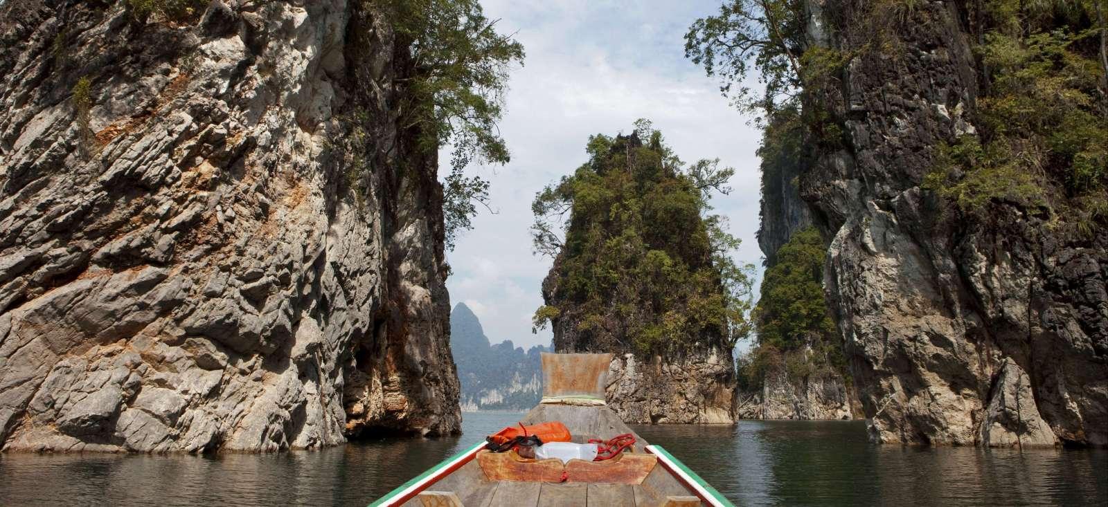Voyage sur l'eau Thailande : Ma famille se thaïe ! Version confort