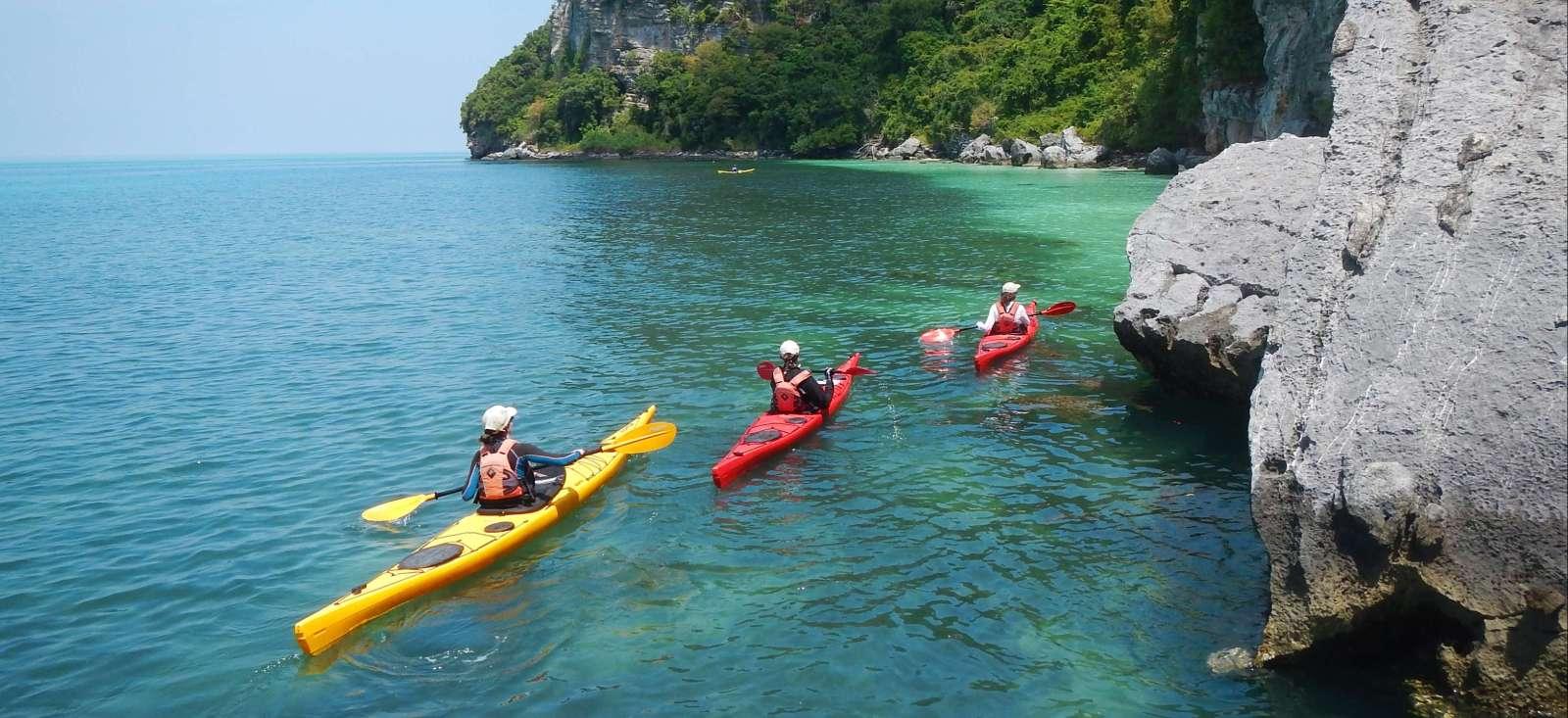 Voyage sur l'eau : En kayak de mer dans les îles du Sud !