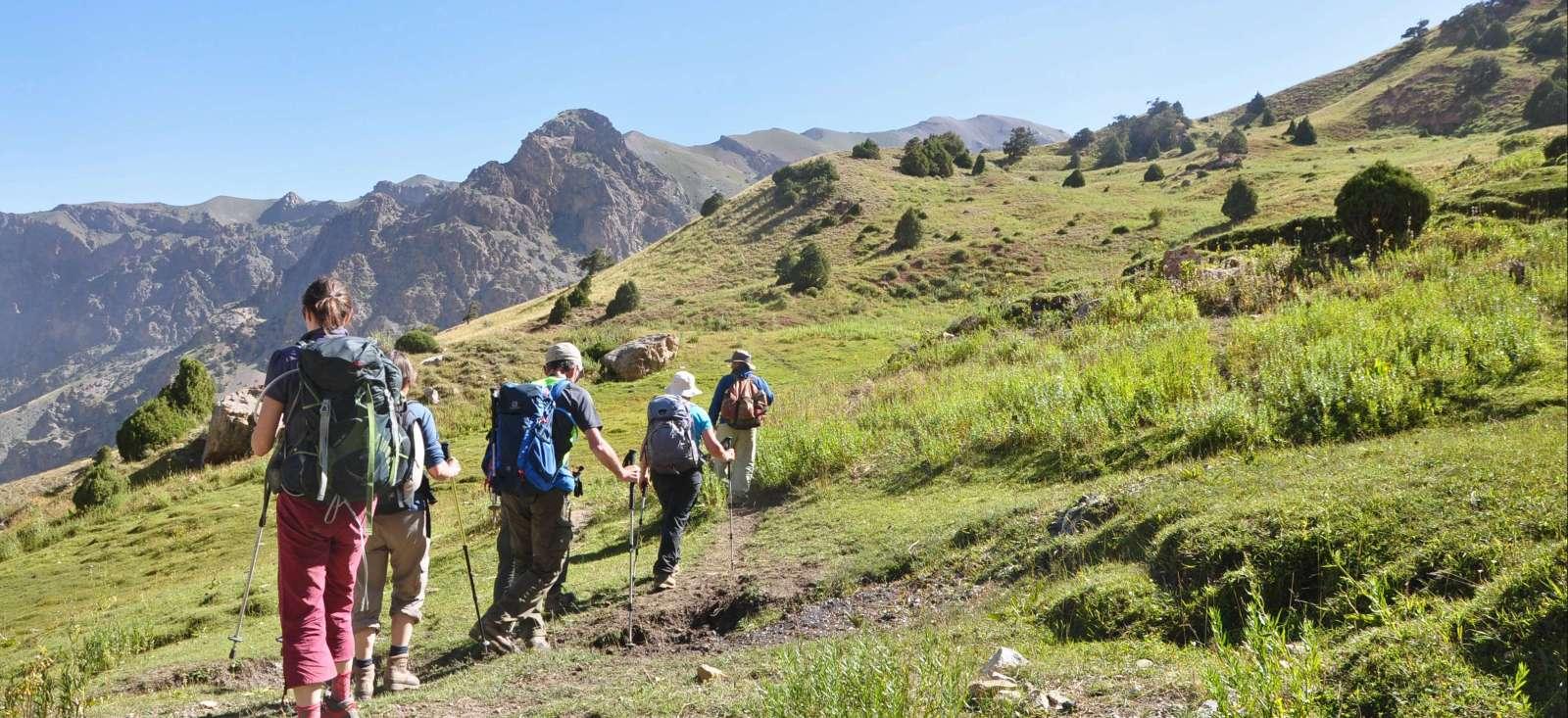 Voyage à pied : Tadjikistan : Trésors cachés des monts Fansky