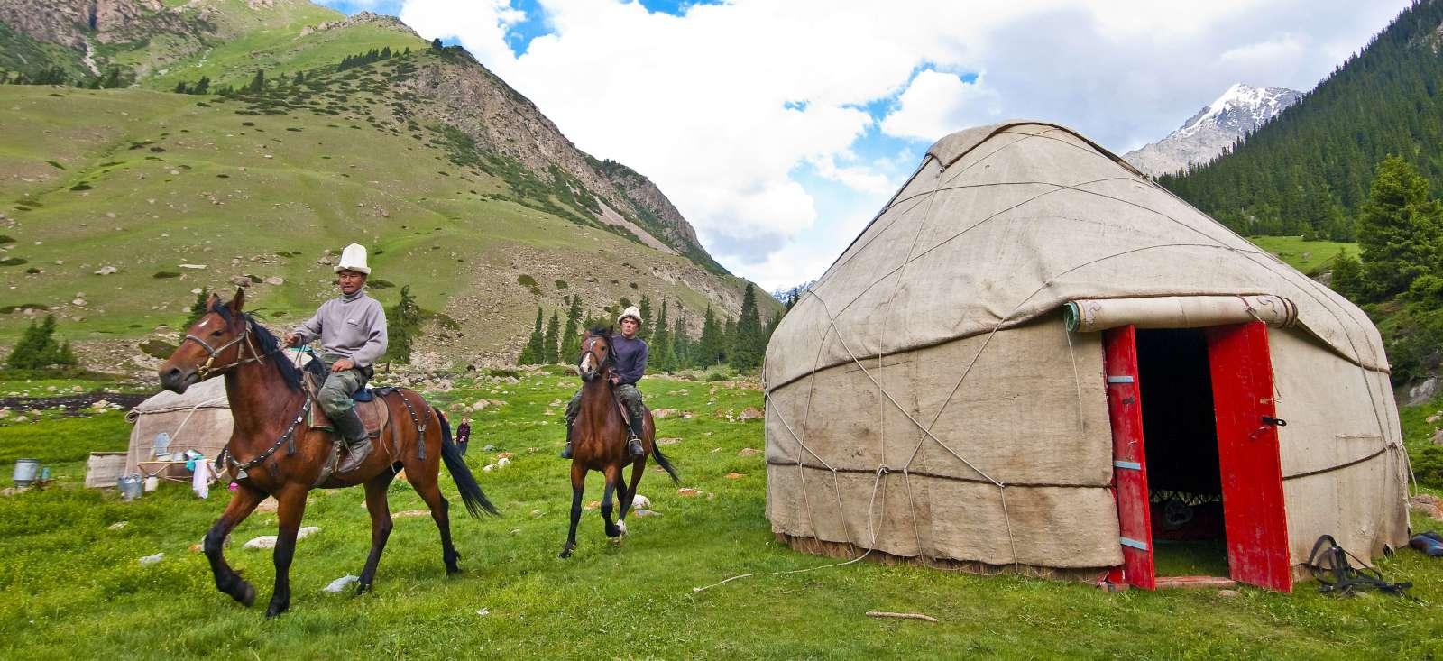 Voyage à pied : Tadjikistan : Terre des 3 Stans