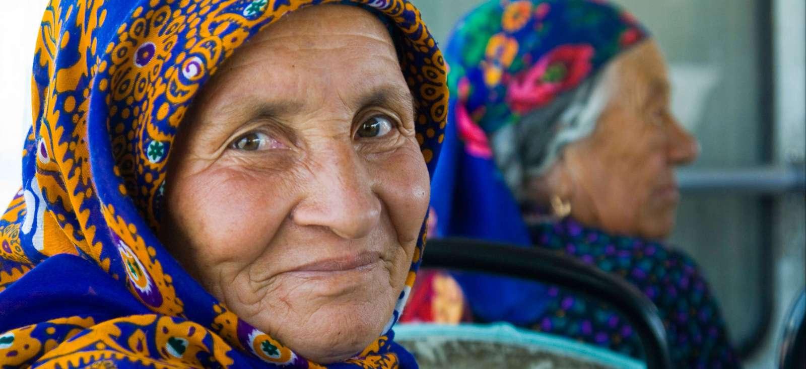 Voyage à pied :  L\'gendaire Turkménistan et route de la soie